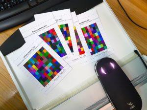 Калибровка и профилирование принтера EPSON L800 под печать на документы